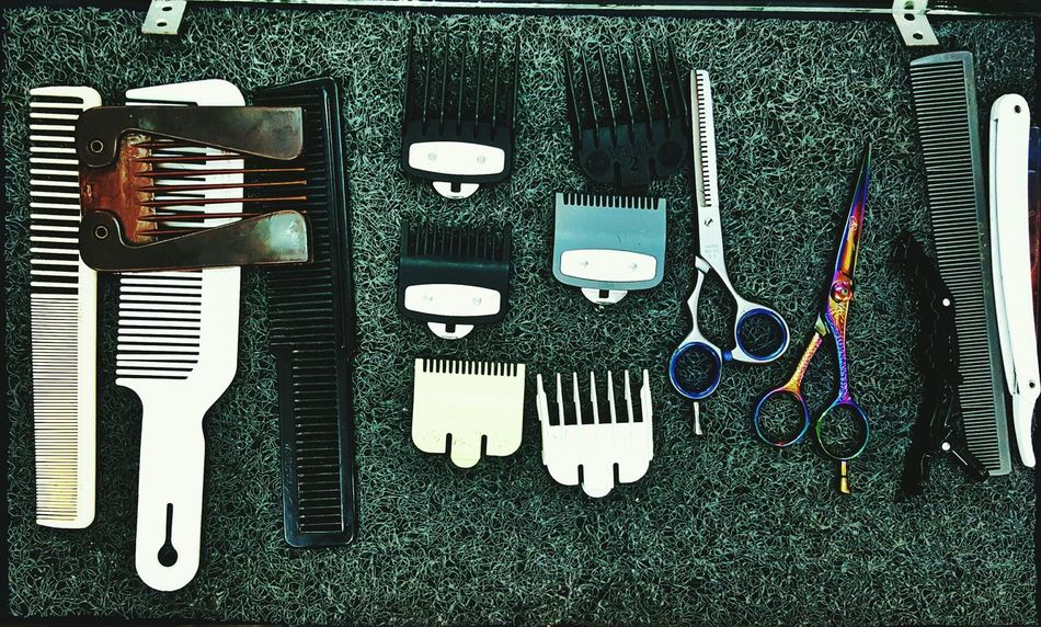 Every barber's best friends. TakeoverContrast Barber Barber Shop Scissors Saloon Clipper Collection Clippers