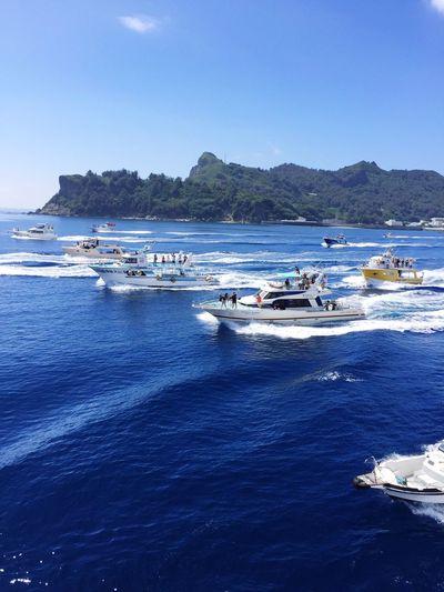 Embrace Urban Life Ogasawara Island Good Bye Ship