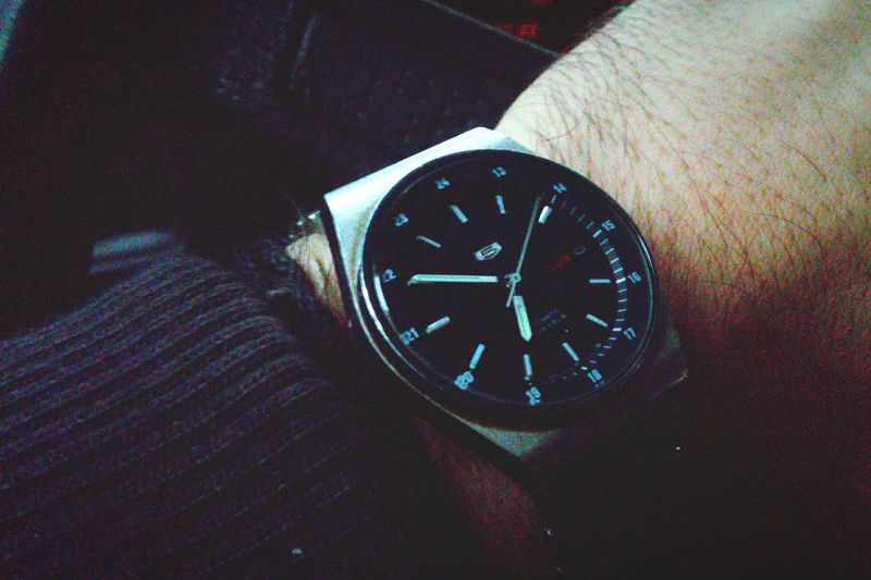 Back home Watch Morning Early Morning Seiko Car Steering Wheel Athens Greece End Of Shift