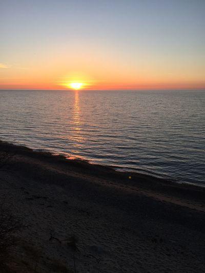 Sonnenuntergang an der Ostsee First Eyeem Photo