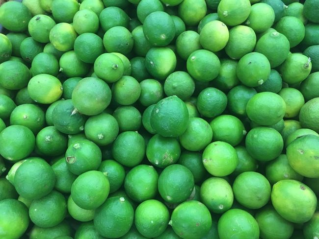 Lime Backgrounds Green Color Full Frame Healthy Eating Food No People Freshness Close-up White Background Nature Day