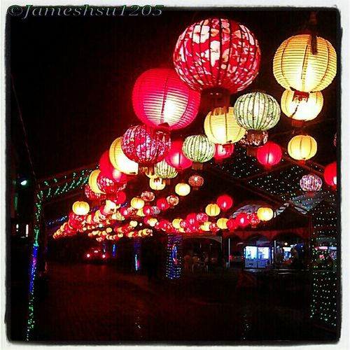 Taiwan Night Lights Candle Light Lanterns Lukang