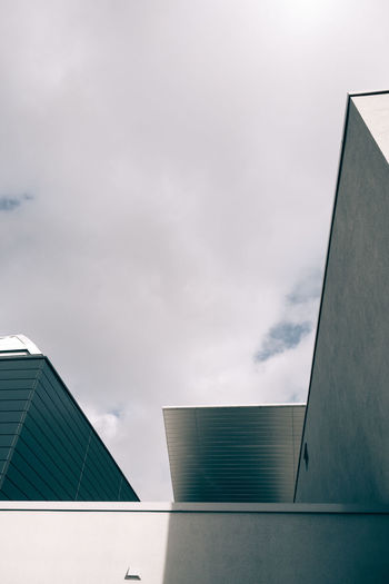different angles Architecture Building Exterior Built Structure Cloud - Sky Day Low Angle View No People Outdoors Sky