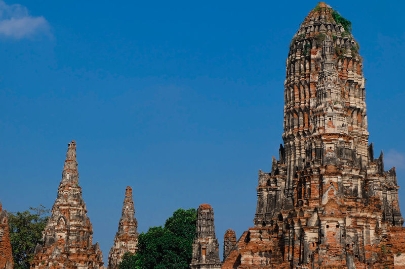 wat chaiwattanaram ayutthaya world heritage Architecture Tower Travel Destinations Business Finance And Industry History Skyscraper Cityscape Building Exterior Urban Skyline Built Structure Office Modern City Illuminated Tree Sky Outdoors No People Day Ayutthaya | Thailand Thailand🇹🇭 Architecture World Heritage Site
