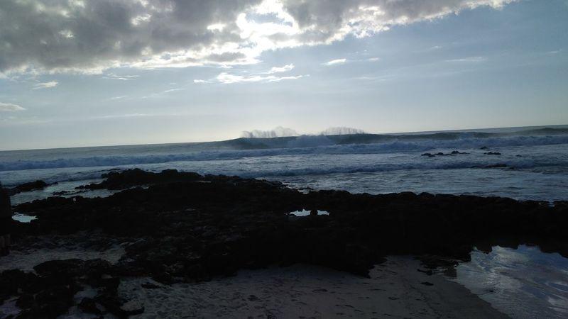 Dramatic Sky Sea Landscape Cloud - Sky Beach Beauty In Nature No People