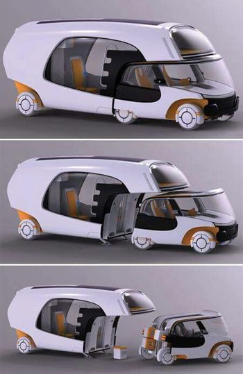 Really Modern Car Araba Tasarım Karavan Perfect Engineer Dizayn