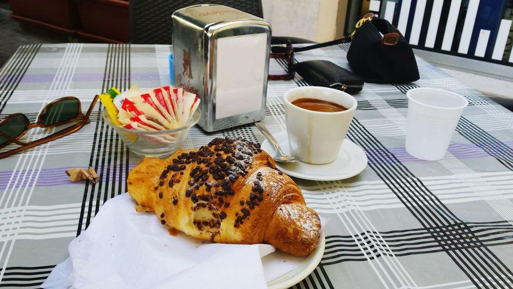Breakfast Coffee Sicily Cornetto
