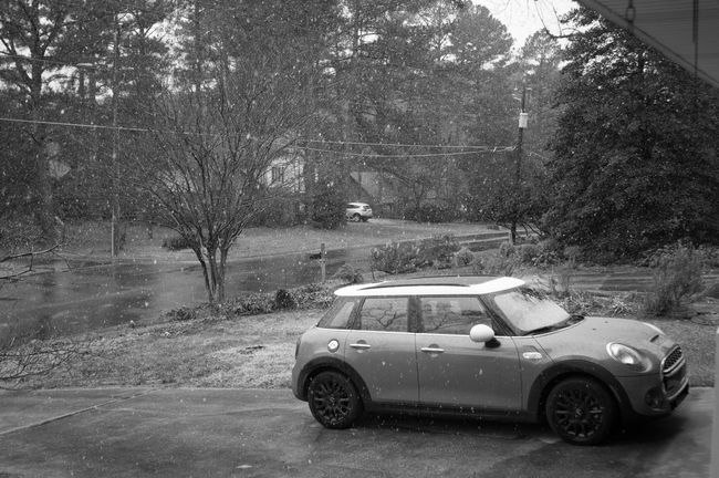 B&w Blizzard Car Day Durham Grey Jonas North Carolina Outdoors Parked Snow Snow Fall Southeast Stationary Winter