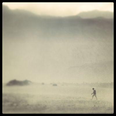 India Ladakh Sand Storm