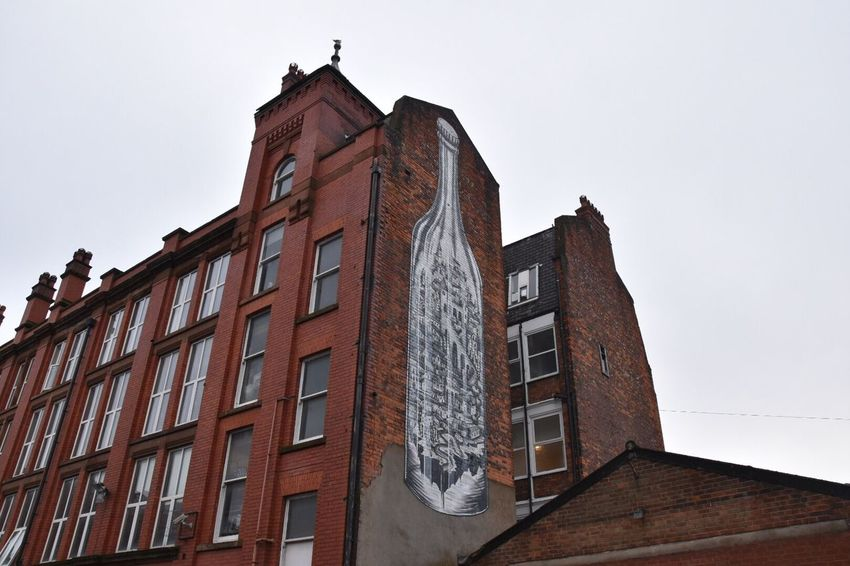 Architecture meets street graffiti. Architecture Built Structure Building Exterior Low Angle View No People Outdoors Sky Day Old Buildings EyeEm Street Art Graffiti Getty X EyeEm Street Graffiti EyeEm Gallery Architecture Graffiti Art Eyeem Community Graffiti & Streetart City Architecture EyeEm Masterclass Architectural Feature EyeEm Best Shots Street Photography Art