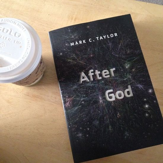 """One of the more interesting reads in the systematic theology class for students. Taylor is brilliant. """"To think after God is to think the after that is ever before us."""" (41) Theology Postmodern  Deconstructive Schema Complexity Religion"""