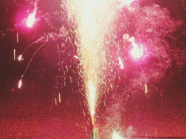 Taking Photos Silvester Feuerwerk