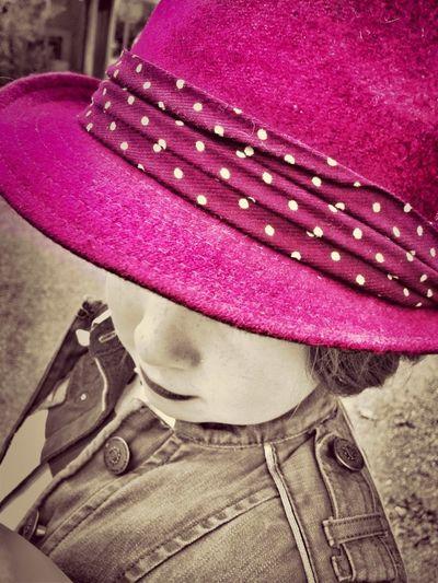 Portrait Pink Colorsplash Itsapinkworld