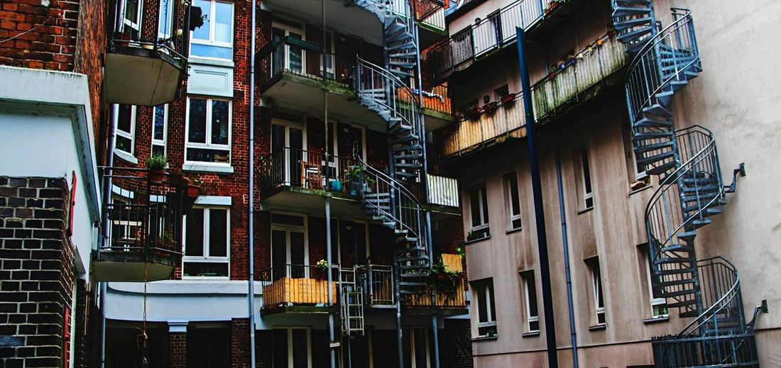 Architecture Built Structure Building Exterior Building Window No People The Architect - 2018 EyeEm Awards City Residential District Balcony Full Frame Railing Pattern Wall - Building Feature Apartment Sunlight