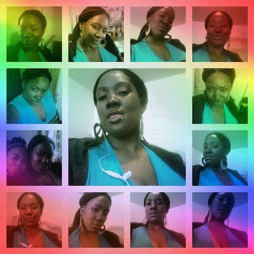 me jus being me