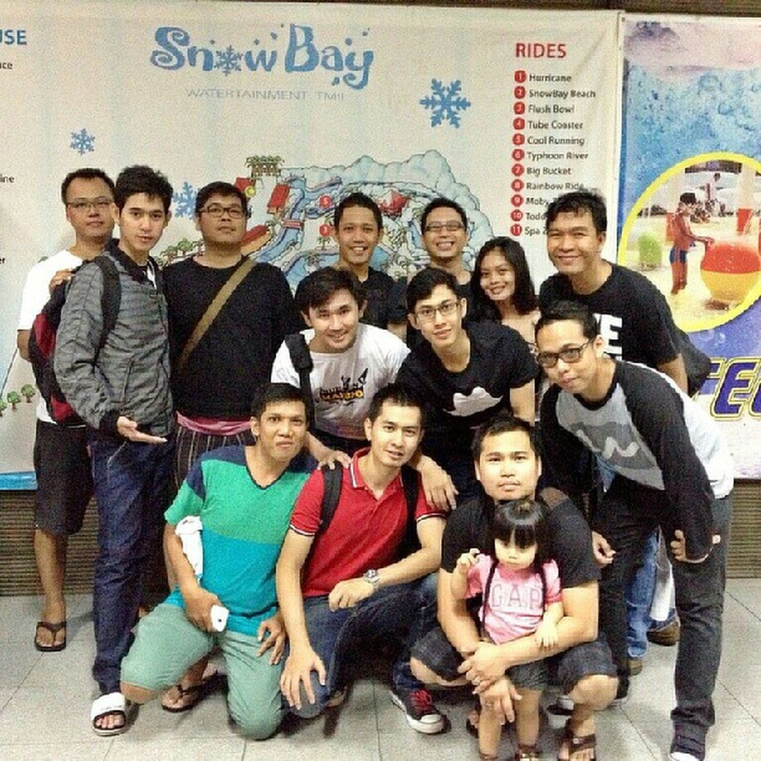 With team erajaya.. Snowbay