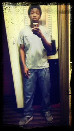 chillin in my jays n polo