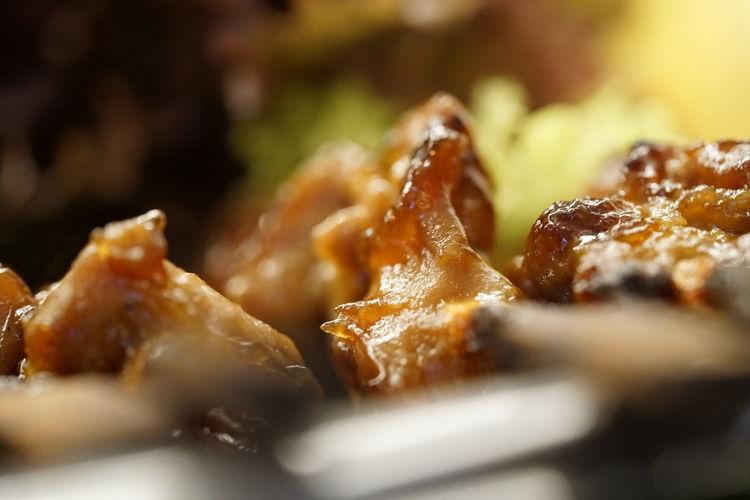 Bio Essen Genusserlebnis Gut Gewürzt Huhn Hühner Spieße Hühner Braten Gesund Essen Lecker