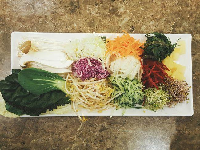 Salad Colorful Vegetable