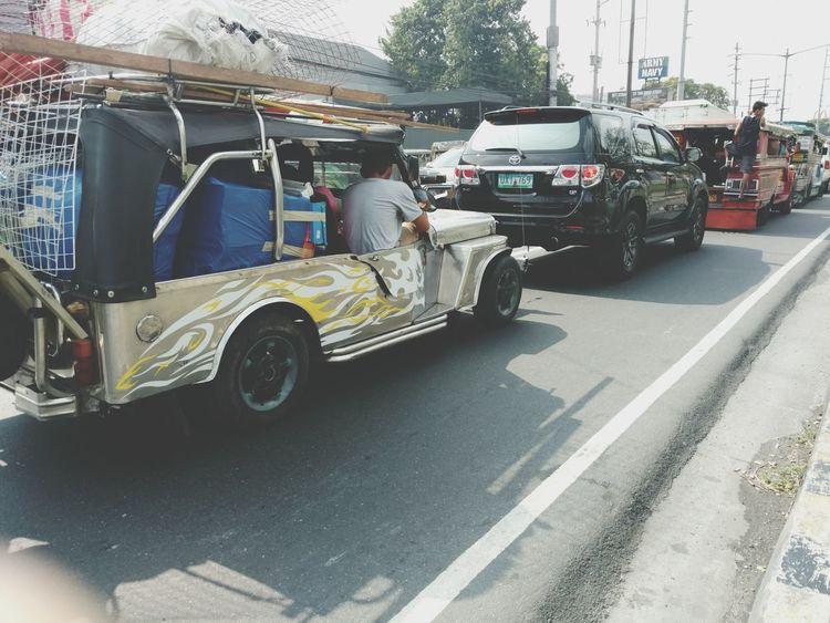 Philippines Cainta Rizal Traffic Roadscenes
