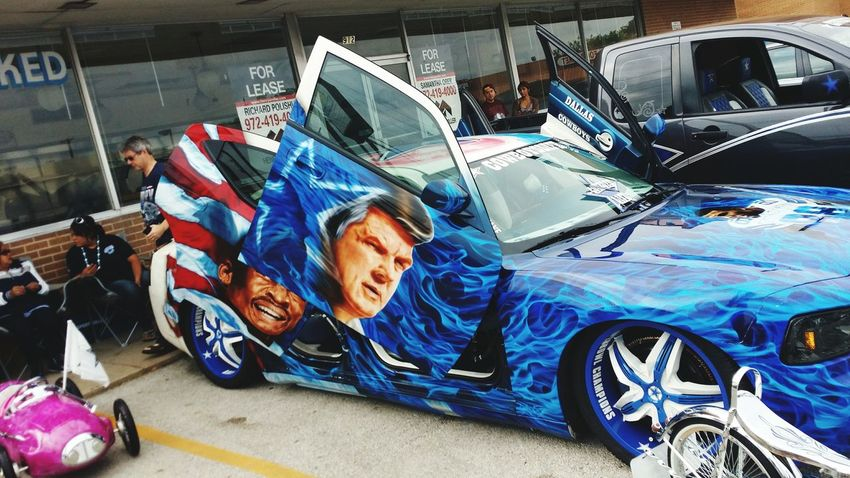 Cowboys Stadium Dallas Cowboys cowboy nation Art cars automobile