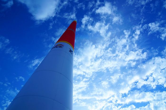 Redbullairrace RedBull Airrace Pylon Chiba,Japan Chiba Airgater Sky Clouds And Sky Cloudy Blue Makuhari エアレース パイロン レッドブル レッドブルエアレース 空 雲