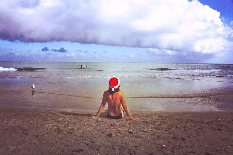 Have you been Naughty or Nice? Christmas Sunshine Enjoying The Sun Clouds