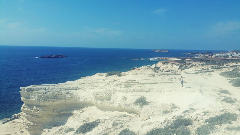Lost In The Landscape Cyprus Beach Sea Sand Water Beauty In Nature Tranquility Whitestone