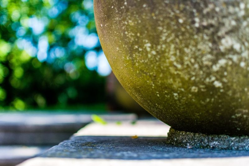 It's this perfect shape that has been intact for so long that is the most fascinating. via http://www.rhme.de/sphere/ #nikon #d5200 Picoftheday Stone Nikon