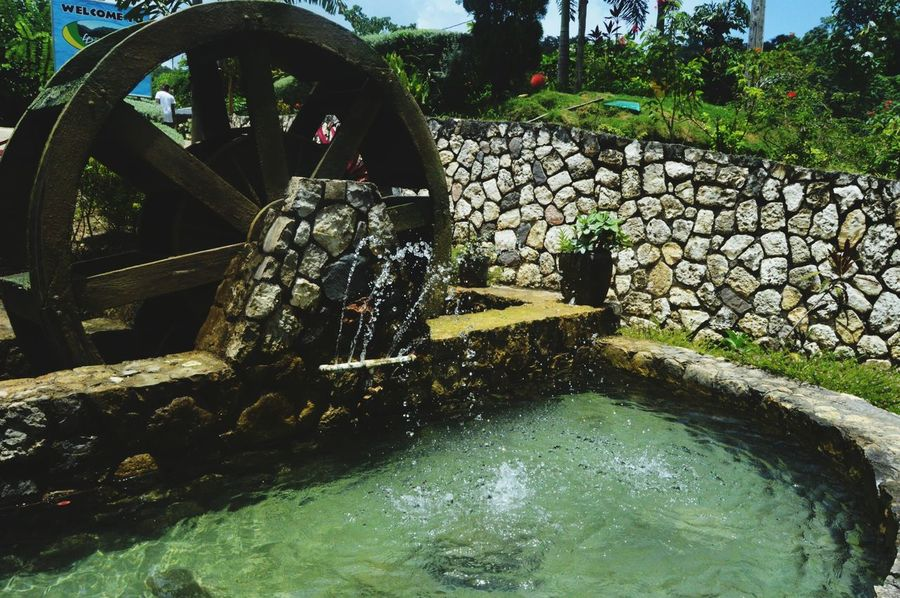 Water Wheel Water Watermill Wheel Old-fashioned Day Outdoors No People Retro Styled Motion Irrigation Equipment Nature