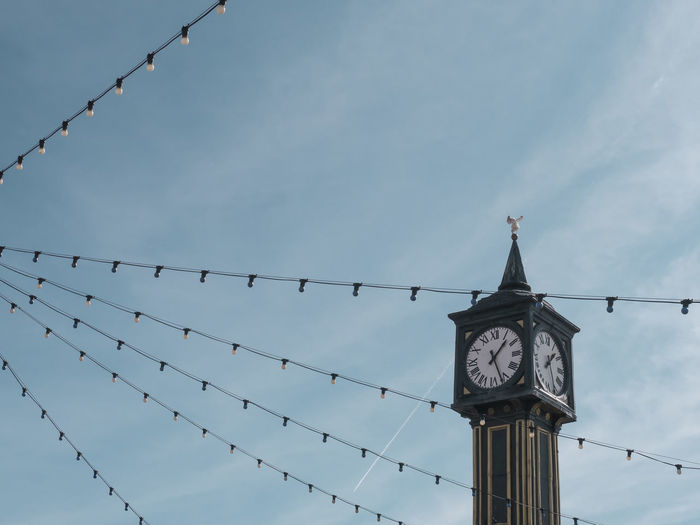 It´s Brighton o´clock Brighton Brighton Pier Lights Pastel Power Tourist Architecture Built Structure Clock Tower Cloud - Sky Day Lessismore Low Angle View Minimalism Minimalist Photography  No People Ornaments Outdoors Pastel Colored Pastel Colors Safety Sky Spare Time Tourism Tower Uk