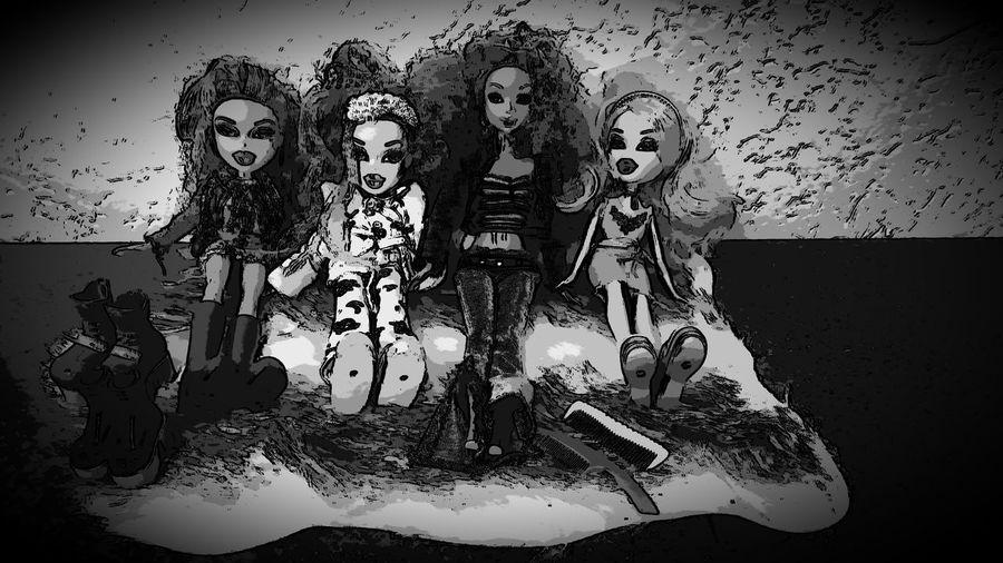 I'm from plastic , It's fantastic🌸 Barbie Girl Barbie Collector Barbie Bratz!  Bratz Doll Play Childhood Fun Nostalgia Human Hand Human Face Close-up Kid Human Representation Female Likeness Doll EyeEmNewHere