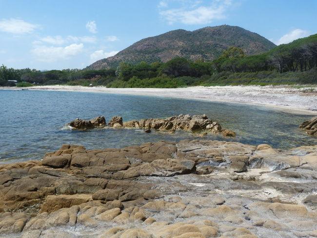 peaceful beach.. Sardinia Sardegna Italy  Sardinia Sardegna Water Beach Mountain Sea Sky Landscape