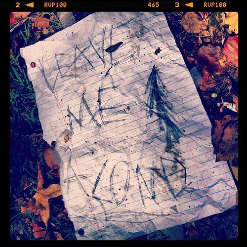 Leavemealone Message Random Southpasadena