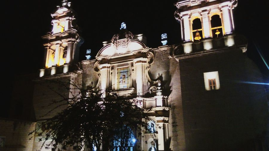 Cajamarca by night. Cajamarca de noche Night Iglesia First Eyeem Photo