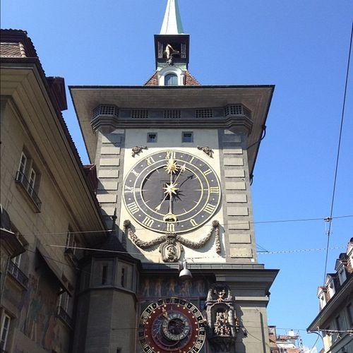 IPhoneography Clock IPhone4s Tower Bern Switzerland Photooftheday Iphonesia Instagram Schweiz Ig Igers IGDaily Jj  Instagramers Jj_forum Igersuisse Marcowagner Zytglocke Touristspot
