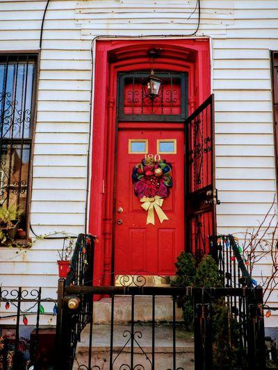 Xmas Wreath red