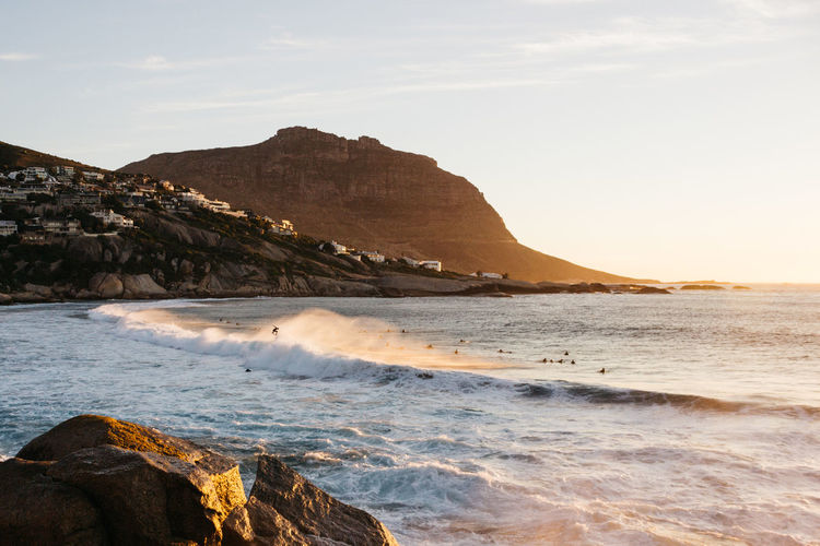 Getting Air Be. Ready. Cape Town Perspectives On Nature Sunset_collection Surf Surfer Beach Beauty In Nature Day Jonnynichayes Landscape Llandudno Mountain Nature Ocean Outdoors Popular Photos Rock - Object Scenics Sea Sky Sunset Tranquility Water Wave