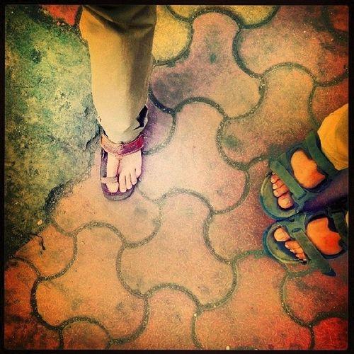 Tripod. Feet Feetobsession Withafriend Mumbai random 100happydays instahappiness instafeet instalike instapic instamoment
