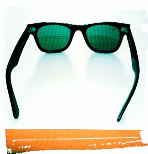 Cool Shades Glasses On A Table Reflection Minimalism Lines & Curves Shapes