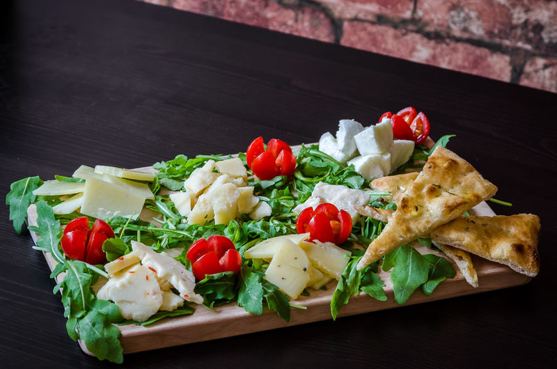 Food And Drink Herb Meal Temptation Cheese Cheese Board Food Foodphotography Fresh Freshness Garnish Healthy High Angle View Indoors  Indulgence No People Organic Plate Ready-to-eat Serving Size Still Life Tabletop Tray Wood - Material Yummy
