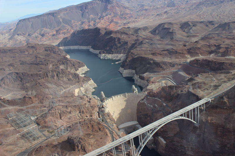 Dam Hoover Dam NEVADA, USA!♡ View From Sky