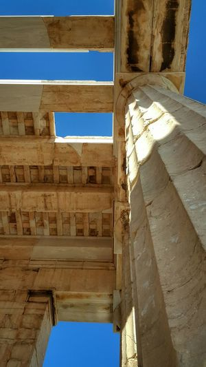 My Best Photo 2015 Learn & Shoot: Leading Lines World Heritage Monument - Acropolis Athens Greece