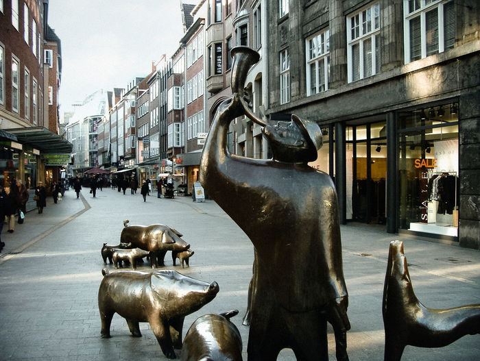 Bremen Musicians Grimm