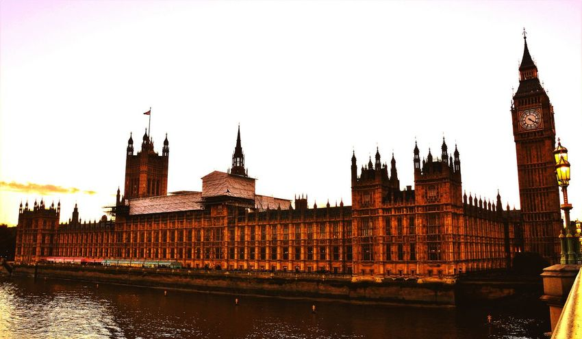 City Architecture Travel Destinations Sunset Politics And Government LONDON❤ London_only Uk Great Britain History London Londononly Lovelondon Londonphotography Londonthroughmycam Housesofparliament Bigben Elizabethtower Elizabeth Tower Houses Of Parliament No People Westminster Bridge Postcode Postcards