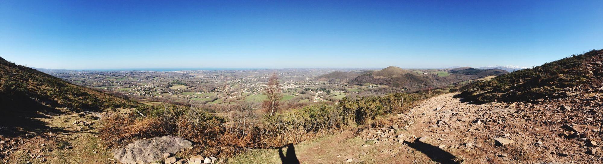 Beautiful Day Beautiful Nature Montagne La Rhune Randonnée Soleil Neige❄ Frère & Soeur ?❤️