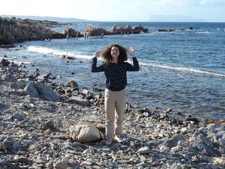 Sardinias sea... Taking Photos Nofilter Sea Blusky