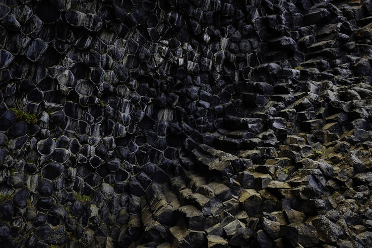 Basalt rock. Basalt Rock Formations Iceland Iceland Memories Perspectives On Nature Backgrounds Basalt Columns Basalt Formations Basalt Rock Basalt Rocks Iceland_collection Icelandtrip No People Stone Textured  Instagram - @sonjabelle