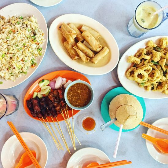 On The Table Food Malaysian Food Foodphotography Satay Foodie Asianfood Asian