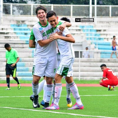 @mangjose69 @mathewcustodio ⚽⚽⚽ . . . NCAA Ncaa90 Ncaaseason90 CSBvsSBC LSGH Greenies lasalle onelasalle sbspotlight soccerbible juniors football bootspotting themanansala